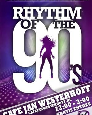 rhythm of the 90's in café jan westerhoff